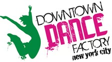 Downtown Dance Factory Logo