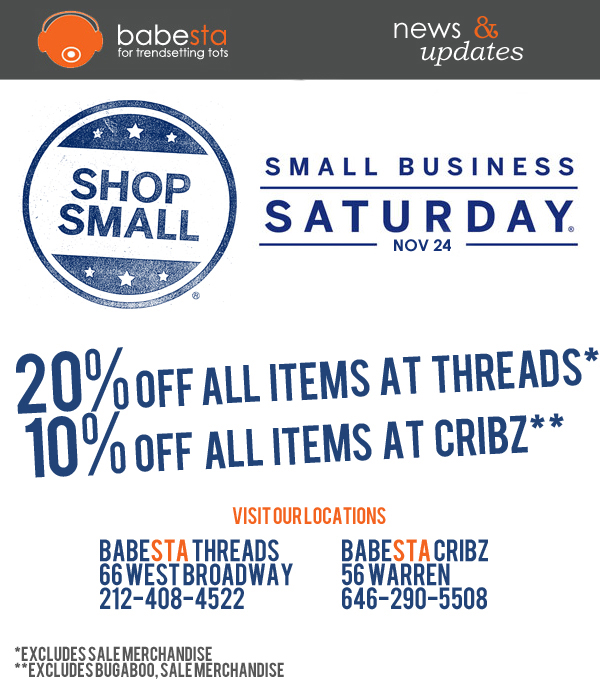 Small Business Saturday offer